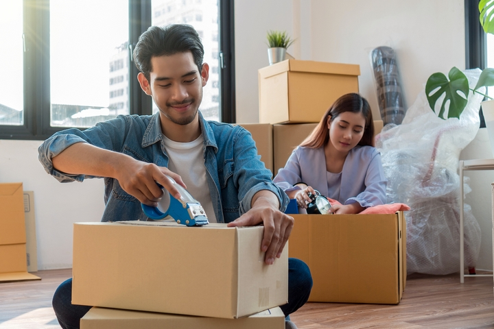 Begin packing as soon as possible to eliminate moving stress.
