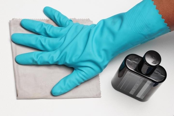 Clean the belongings before packing