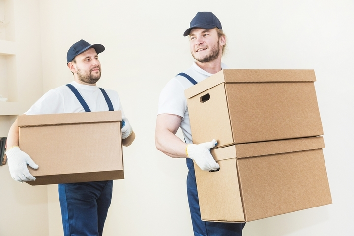 Seniors can hire professional movers to help them move.