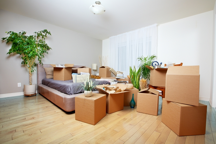 You can pack one room at a time to eliminate moving stress.