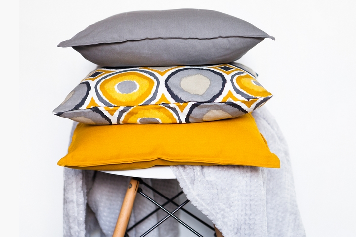 Storing the cushions
