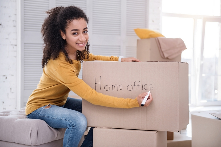 You should use labels on your moving boxes to eliminate moving stress.