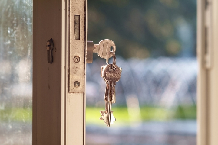 Change all the locks in your new home