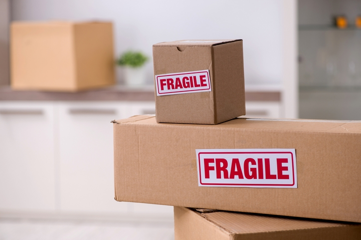 Label any special moving instructions
